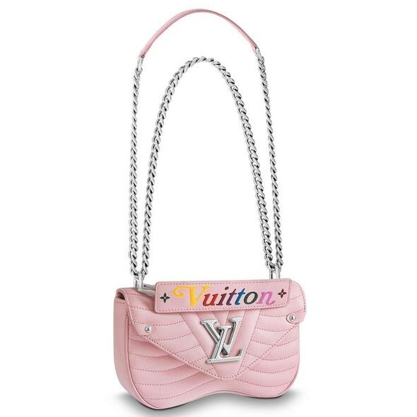 Louis Vuitton Pink New Wave Chain Bag PM M51933