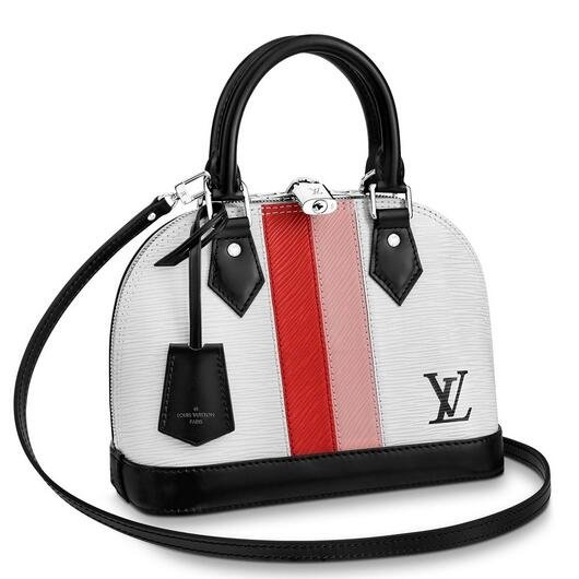 Louis Vuitton Alma BB Bag Epi Leather Stripes M51963
