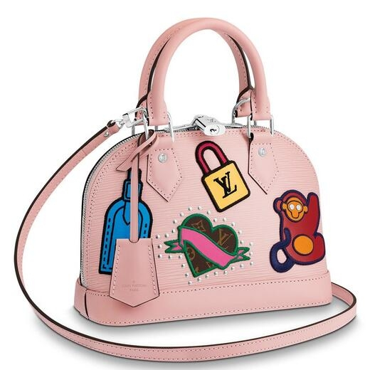 Louis Vuitton Alma BB Stickers Epi Leather M52481