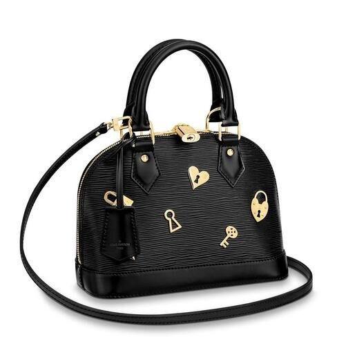 Louis Vuitton Alma BB Bag Love Lock M52884