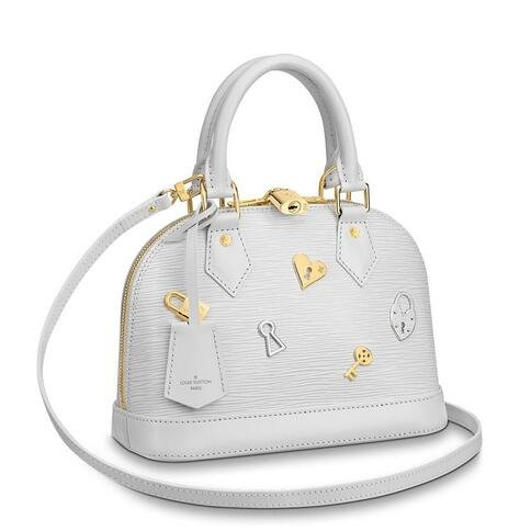 Louis Vuitton Alma BB Bag Love Lock M52885