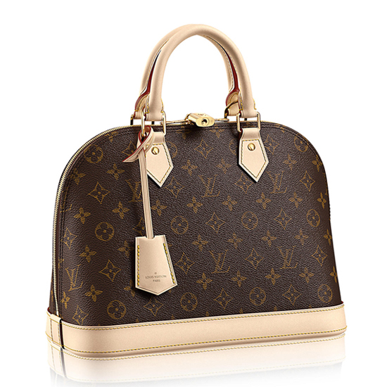 Louis Vuitton M53151 Alma PM Tote Bag Monogram Canvas