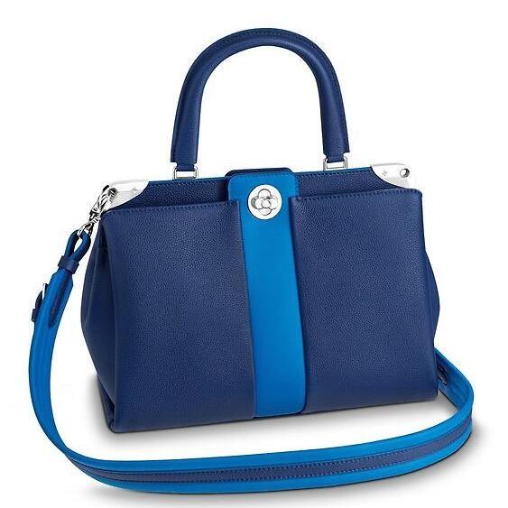 Louis Vuitton Blue Astrid Bag M54373