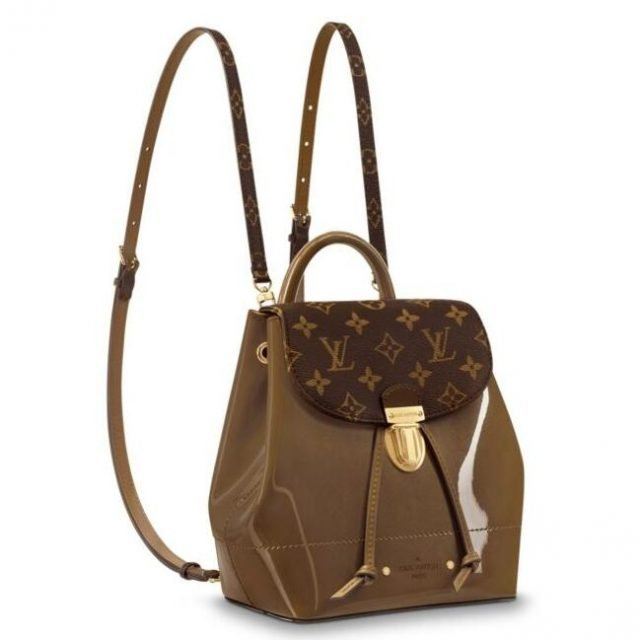 Louis Vuitton Bronze Hot Springs Backpack M54389
