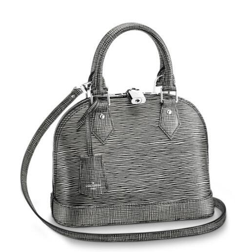 Louis Vuitton Alma BB Bag Epi Platine Leather M54827