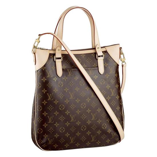 Louis Vuitton M56388 Odeon GM Crossbody Bag Monogram Canvas