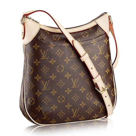 Louis Vuitton M56390 Odeon PM Crossbody Bag Monogram Canvas