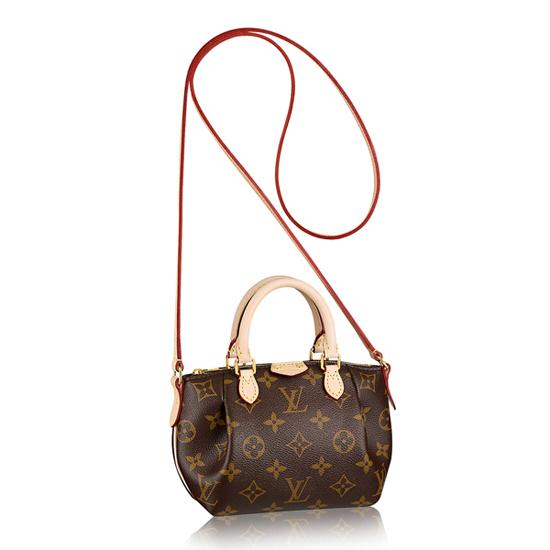 Louis Vuitton M61253 Nano Turenne Crossbody Bag Monogram Canvas