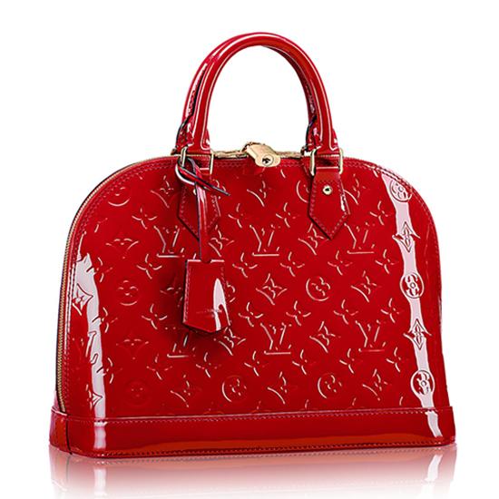 Louis Vuitton M90169 Alma PM Tote Bag Monogram Vernis