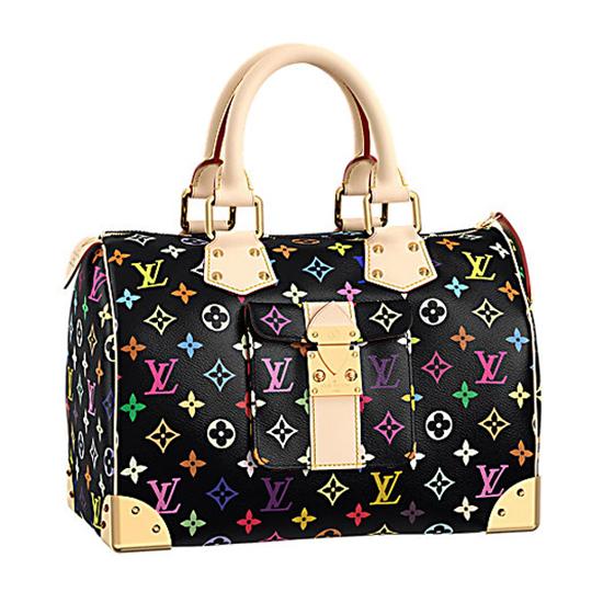 Louis Vuitton M92642 Speedy 30 Tote Bag Monogram Multicolore Canvas