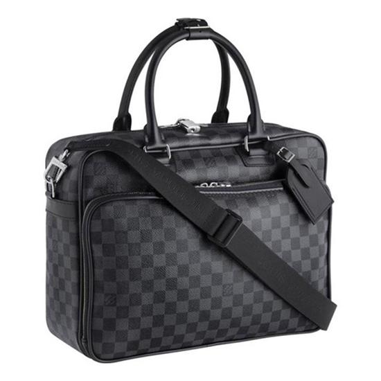 Louis Vuitton N23253 Icare Briefcase Damier Graphite Canvas