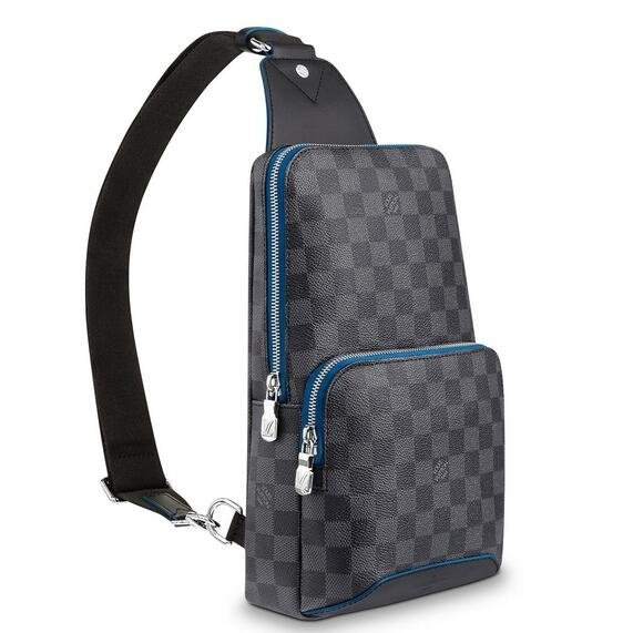 Louis Vuitton Avenue Sling Bag Damier Graphite N40008