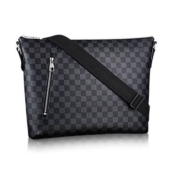 Louis Vuitton N41106 Mick MM Messenger Bag Damier Graphite Canvas