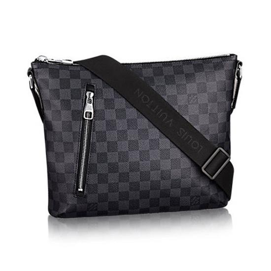Louis Vuitton N41211 Mick PM Messenger Bag Damier Graphite Canvas