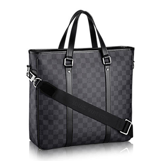 Louis Vuitton N41259 Tadao PM Briefcase Damier Graphite Canvas