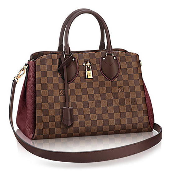 Louis Vuitton N41654 Normandy Tote Bag Damier Ebene Canvas