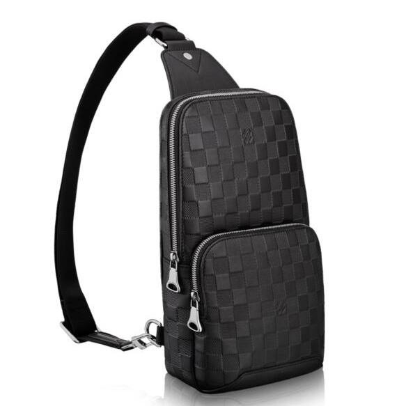 Louis Vuitton Avenue Sling Bag Damier Infini N41720