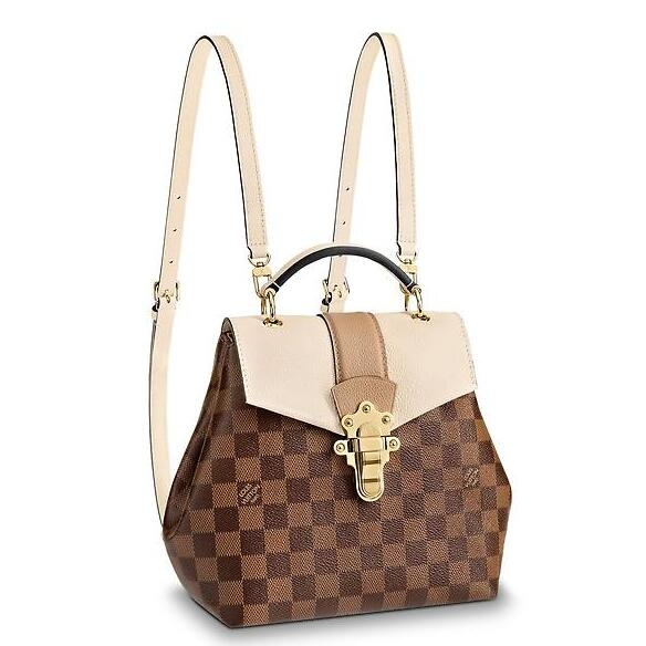 Louis Vuitton Clapton Backpack Damier Ebene N42259