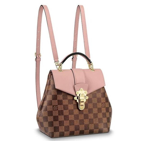 Louis Vuitton Clapton Backpack Damier Ebene N42262