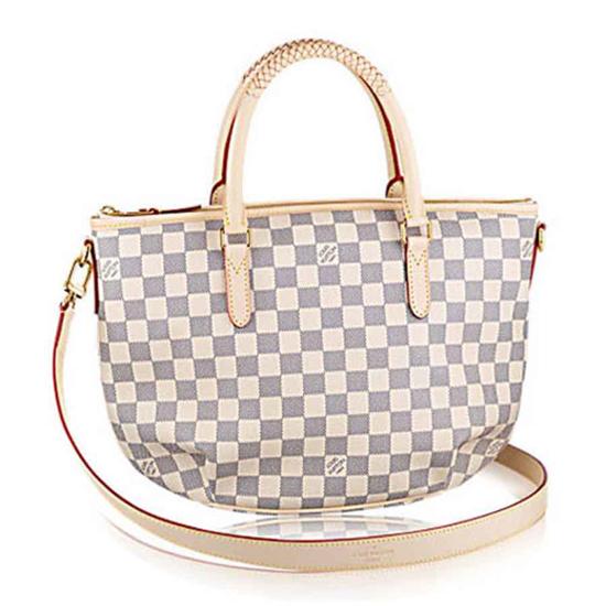 Louis Vuitton N48250 Riviera PM Tote Bag Damier Azur Canvas