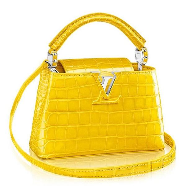 Louis Vuitton Capucines Mini Crocodile Bag N92562