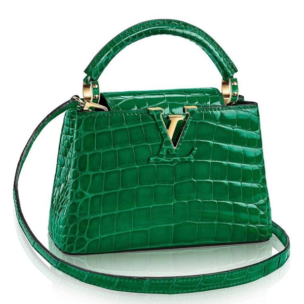 Louis Vuitton Capucines Mini Crocodile Bag N92831