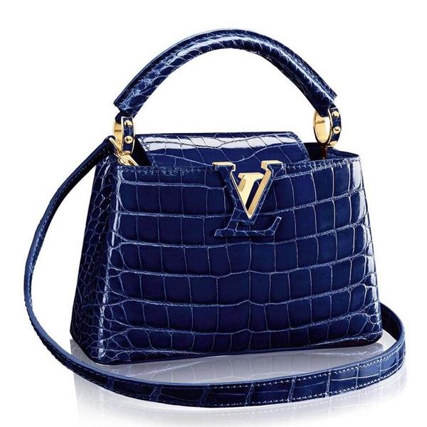 Louis Vuitton Capucines Mini Crocodile Bag N93074