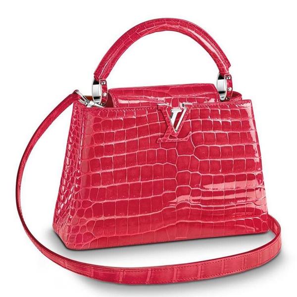 Louis Vuitton Capucines Mini Crocodile Bag N93163