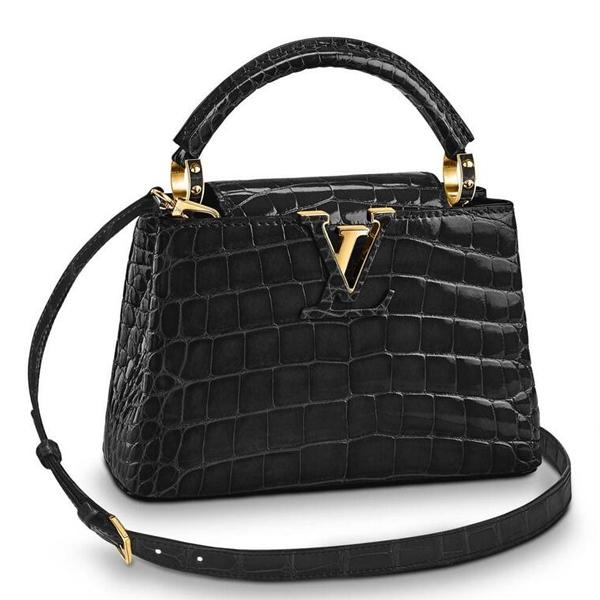 Louis Vuitton Capucines Mini Crocodile Bag N93429
