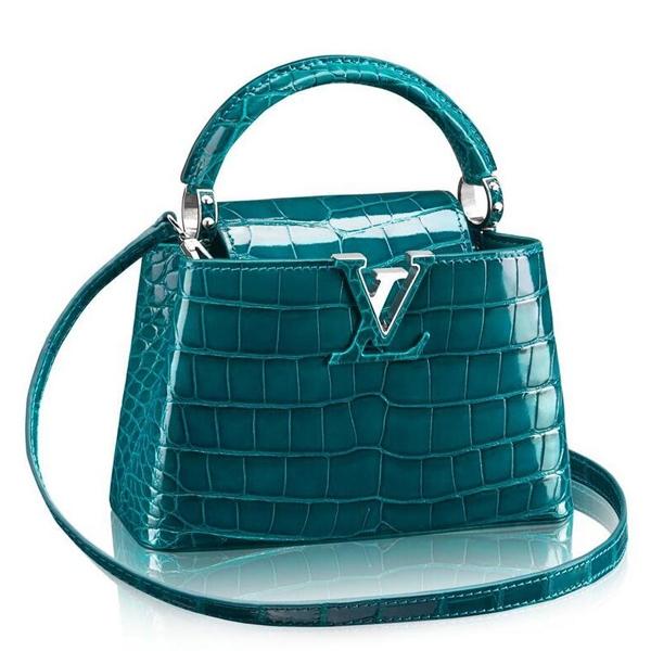 Louis Vuitton Capucines Mini Crocodile Bag N93906