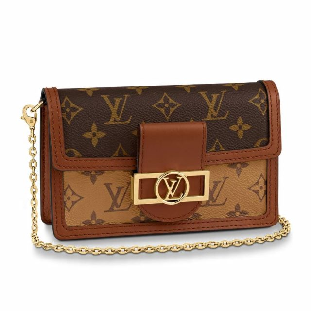 LV Dauphine Chain Wallet 2020
