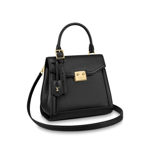 LV Arch handbag Malaga black