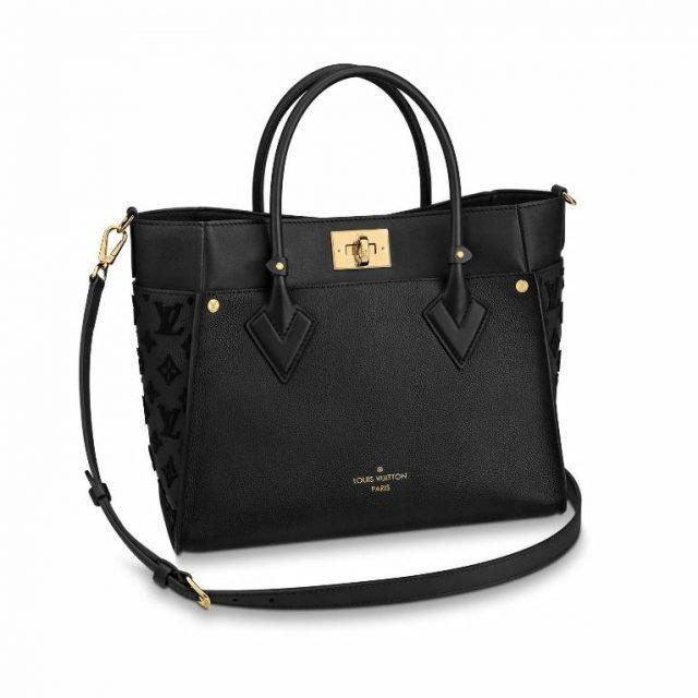 LV On My Side Tote bag Black