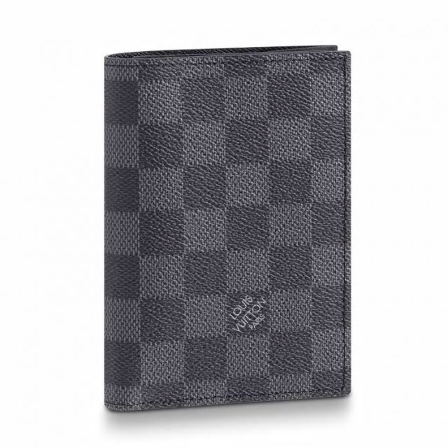 LV Passport cover Damier Graphite Canvas