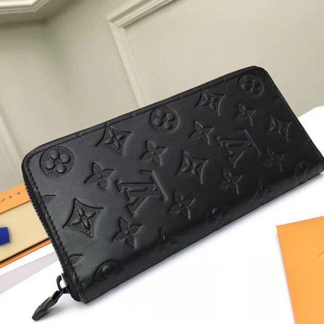 LV Zippy Vertical Wallet 2020 Black