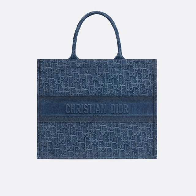 Dior Book Tote bag Blue 2020