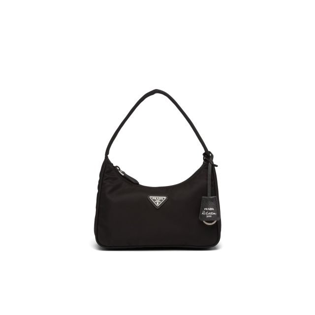 Prada Re-Edition 2000 nylon mini-bag Black