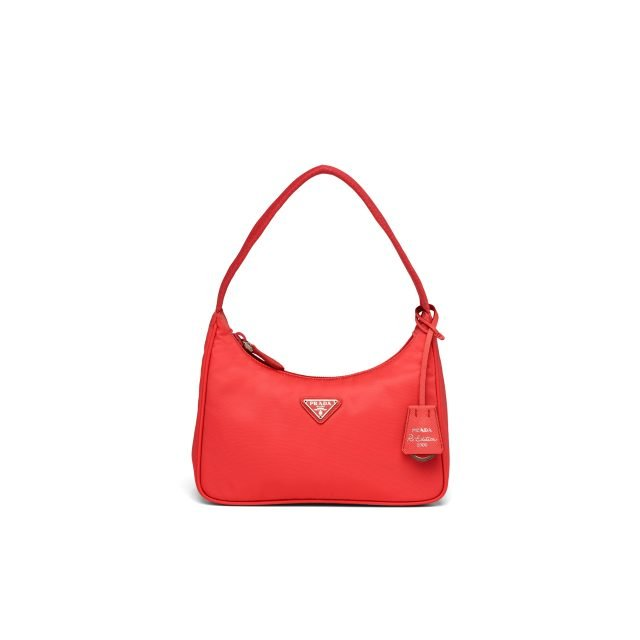 Prada Re-Edition 2000 nylon mini-bag Red