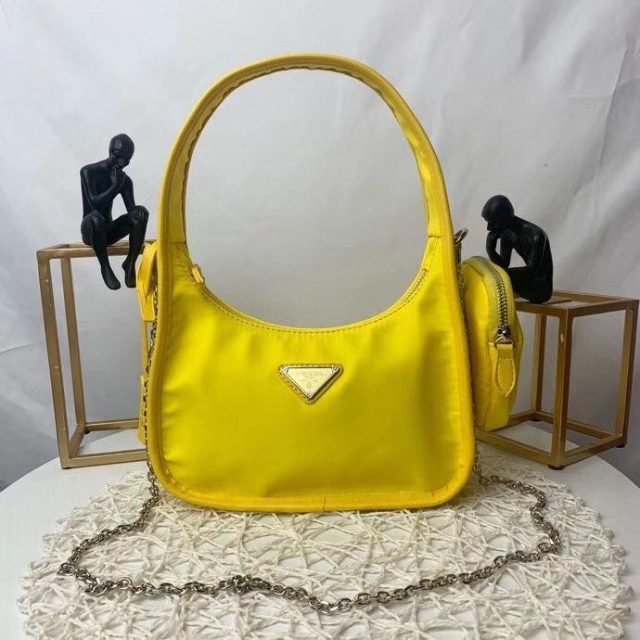 Prada Re-Edition 2000 nylon mini-bag Yellow